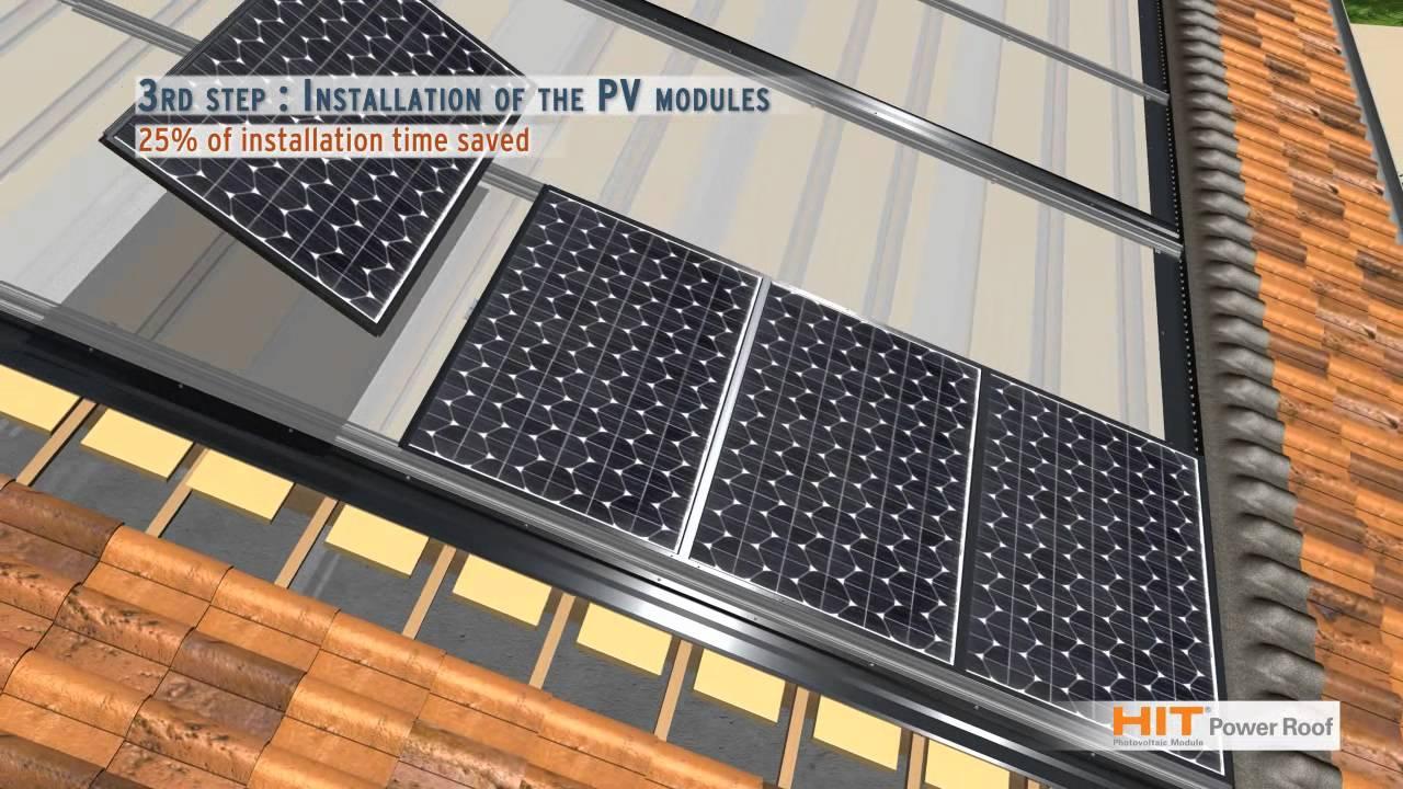 Sanyo Solar Hit Power Roof English Youtube