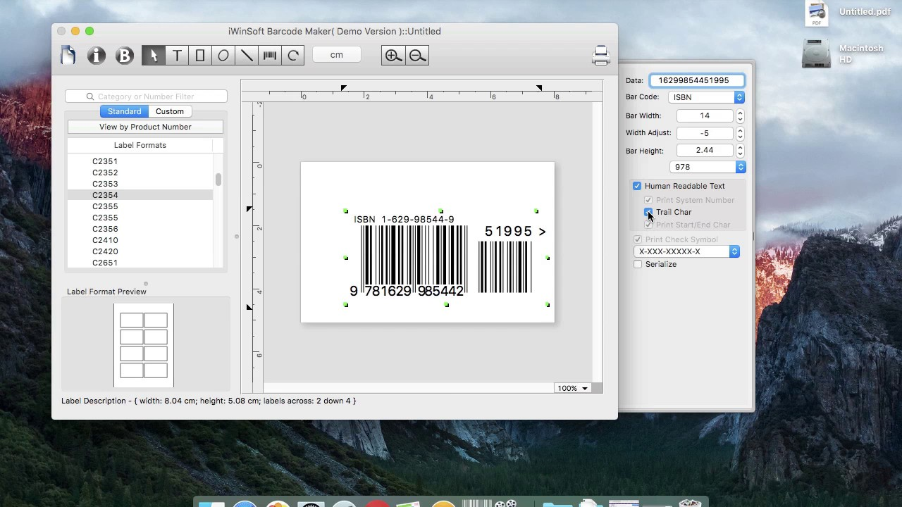 How to add price add-on to ISBN Barcode, generate ISBN ...