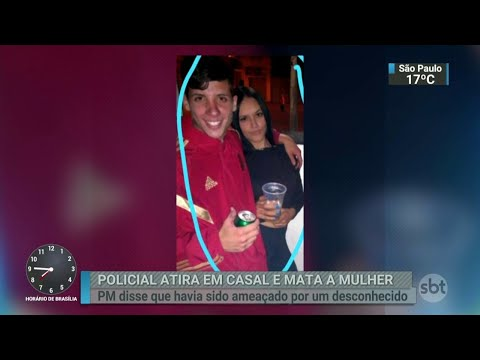 Em SP, ônibus são queimados após casal ser baleado por policial | SBT Brasil (03/07/18)
