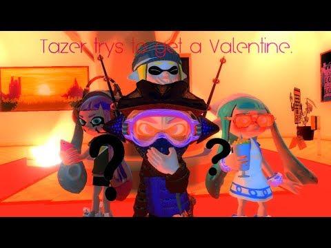 (GMOD/Splatoon) Tazer trys to get a Valentine