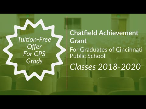 Chatfield College Introduces Achievement Grant!