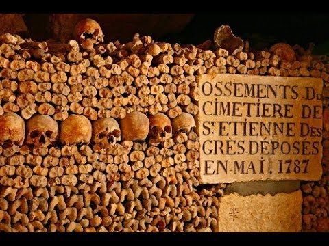 Mystery footage found in Paris catacomb - YouTube