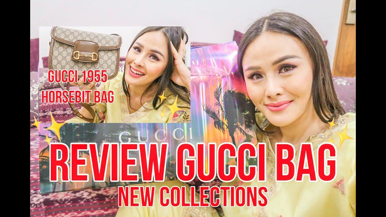 unboxing + review new Gucci 1955 Horsebit bag! #GucciGang #Gucci1955HorseBit