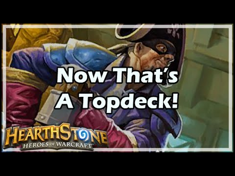 [Hearthstone] Now That's A Topdeck!
