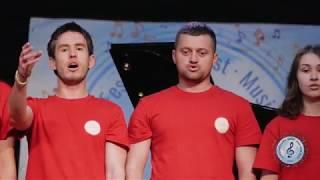 "Vocal Ensemble ""Rhapsody"", Moldova. Moldovian Song ""Chokirlia"". Jerusalem, Israel. 6.05.2018"