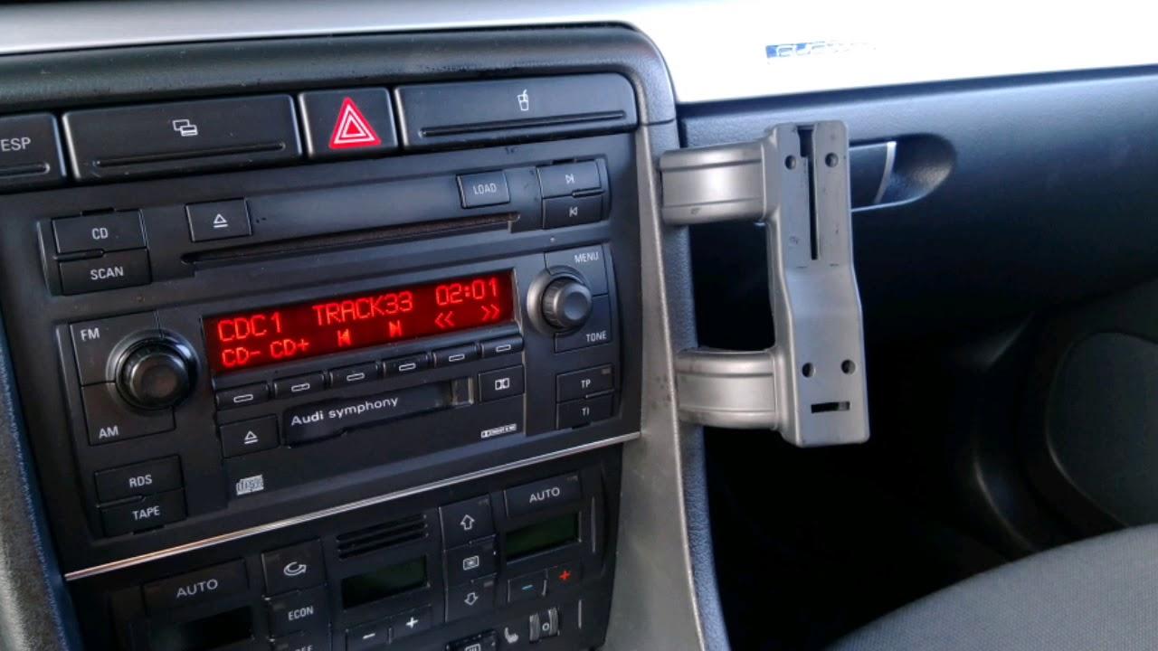 Audi A4 B6 Uchwyt Telefonu Youtube