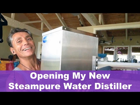 Opening My New Steampure Water Distiller | Dr. Robert Cassar