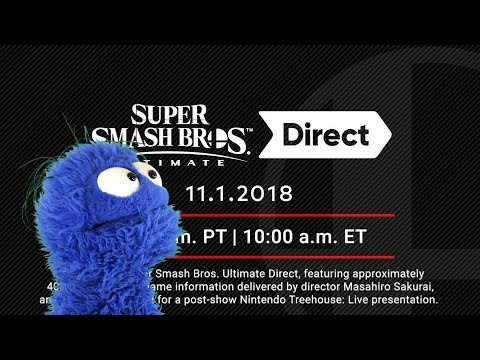 Smash Ultimate Direct 11/1/18 Live Reaction and Commentary