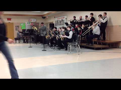 Directors Jazz Band at Corry Area High School-4/26/12