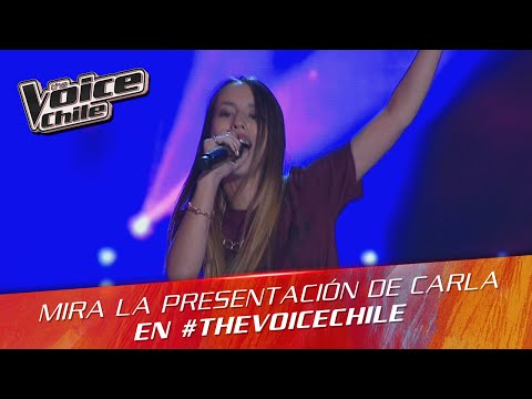 The Voice Chile | Carla Costa - Mamma knows best