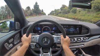 2021 Mercedes-AMG GLE 63 S 4Matic+ POV Drive (3D Audio)