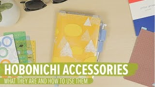 Hobonichi Accessories: What They Are and How to Use Them
