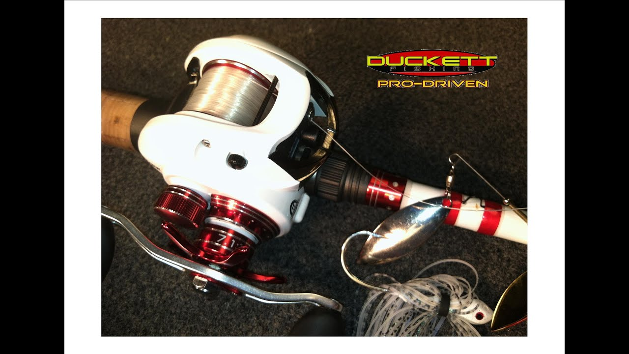 Introduction to duckett fishing new bass reels youtube for Bass pro fishing reels