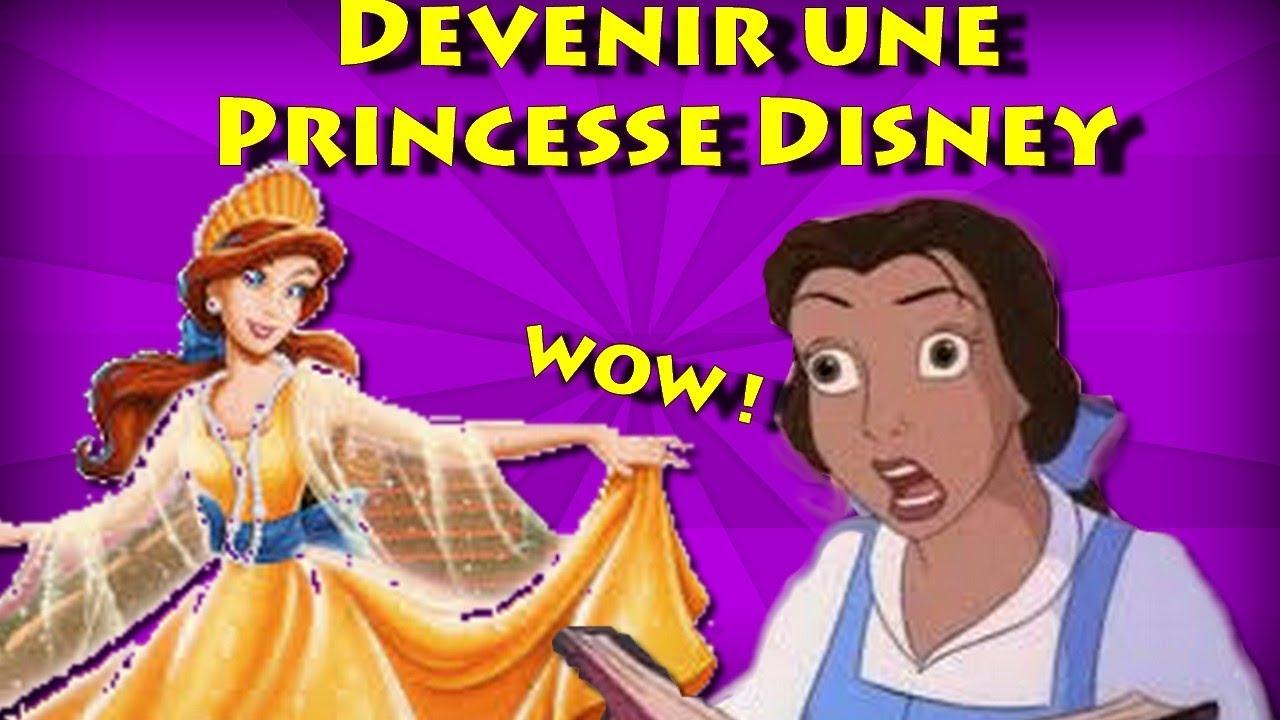 Comment devenir une princesse disney youtube - Comment dessiner une princesse disney ...
