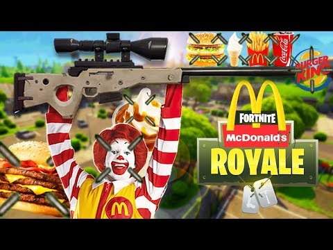MCDONALDS ESPORTS TEAM vs FORTNITE (Fortnite Battle Royale)