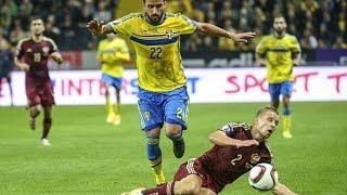05 09 2015 RUSSIA SWEIDEN 1-0 ( RUSYA İSVEÇ MAÇ ÖZETİ )