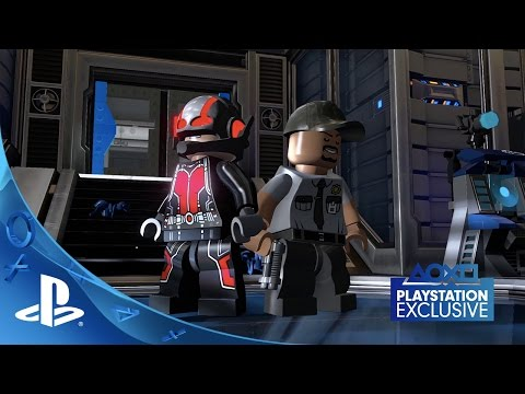 LEGO Marvel's Avengers - Ant-Man Trailer | PS4, PS3 poster