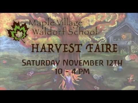 Maple Village Waldorf School Harvest Faire 2016