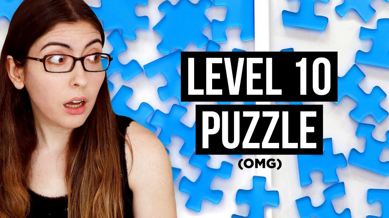 Solving a LEVEL 10 PUZZLE (The hardest jigsaw puzzle in the world?)