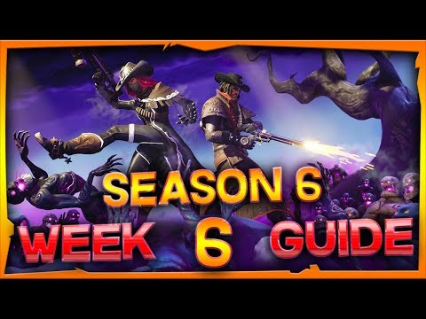 Fortnite Season 6 Week 6 Challenges Guide And Locations