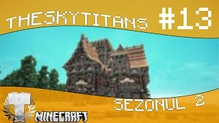 Minecraft Romania TheSkyTitans S2 [Ep.13] - Diamanteeeee ! FARA NOROC