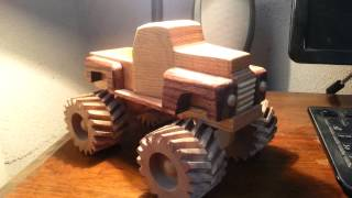 Wooden Toy 1948 Ford Monster Truck