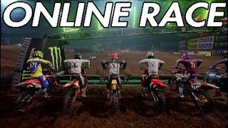 Monster Energy Supercross online race - Oakland