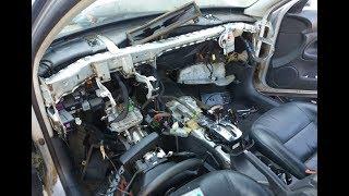 volkswagen (VW) passat b5 замена радиатора печки