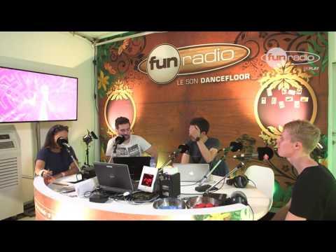 Jay Hardway en interview depuis Tomorrowland chez Fun Radio
