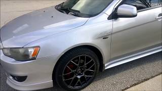 170HP Tuned Mitsubishi Lancer GTS 2.0L Walk Around & Cruise.