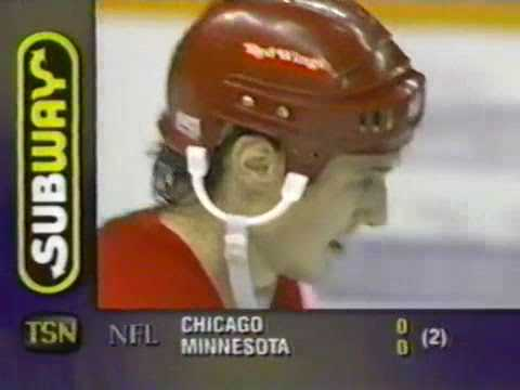 Sergei Fedorov and Russian Five scores vs Jets (1995)