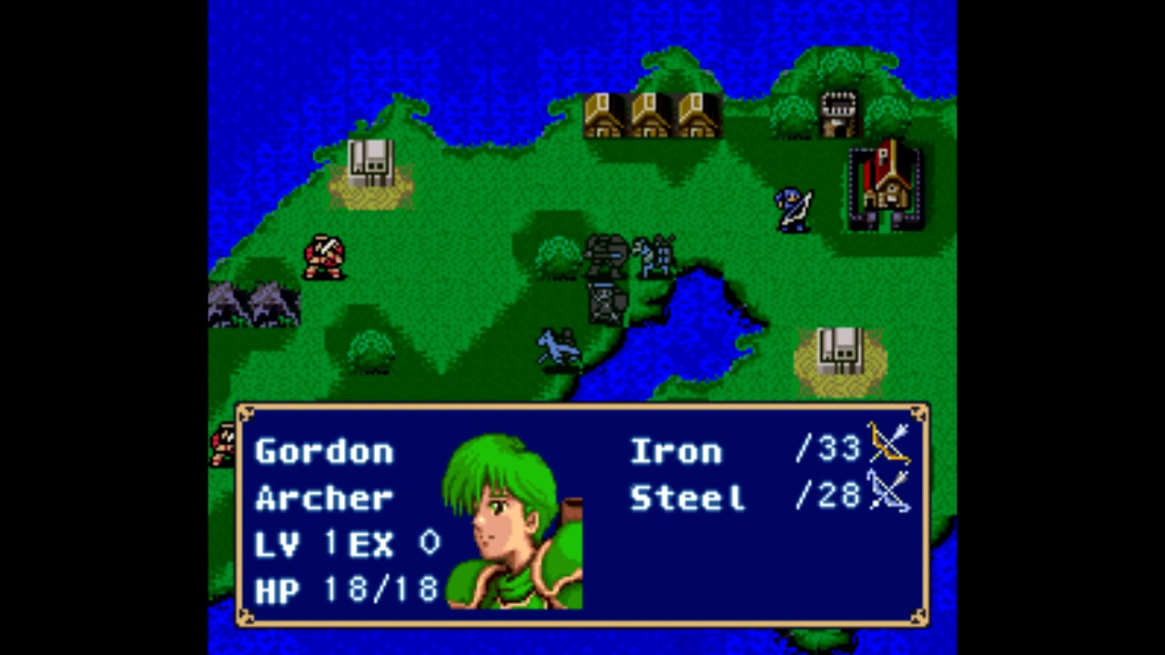 Fire Emblem: Mystery of the Emblem (English Patched)