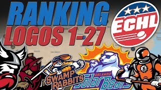 ECHL Logos Ranked 1-27