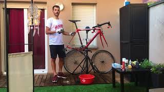 Cómo limpiar mi bicicleta paso a paso