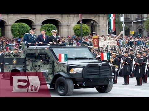 Campo Marte, la última parada del desfile militar / Comunidad