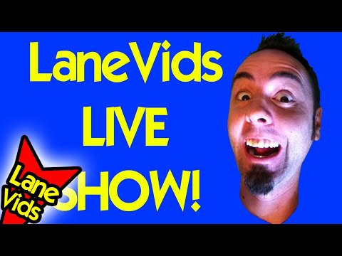 LaneVids LIVE SHOW 7/9/2012