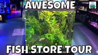 AWESOME Local Fish Store Tour!!! Aquarium Knoxville!