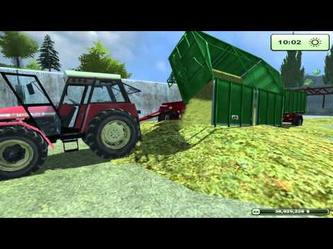 Farming Simulator 2013 | Silage with Krone and Zetor
