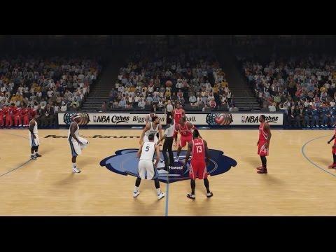 NBA 2K15 HD Gameplay: Rockets vs Grizzlies