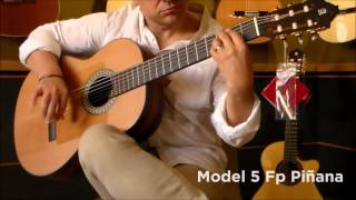 Prueba de la guitarra Alhambra modelo 5 Fp OP Piñana