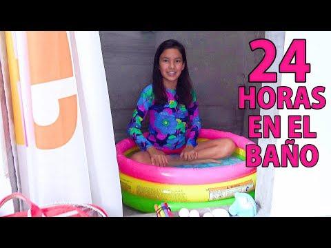 24 HORAS en el BAÑO | TV Ana Emilia