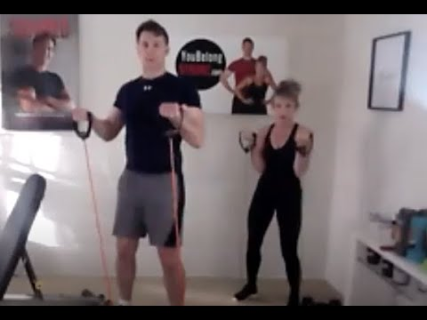 TOTAL BODY WORKOUT WITH LOU ROEHN, MS, CSCS & JULIE ROEHN, CPT