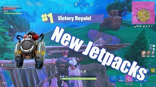 Nouveaux Jet Packs! (Fortnite Battle Royale)