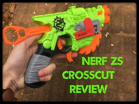 Honest Review: Nerf Zombie Strike Crosscut (Integrated Spinning Buzzsaw!)