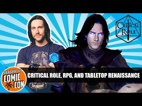 Critical Role, RPG, Tabletop Q&A with Matt Mercer