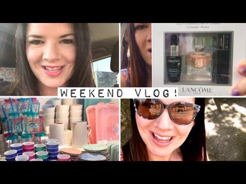 Weekend Vlog! Work | Norwich | Shopping | Tiger | Lancôme Goody Bag | Gifts