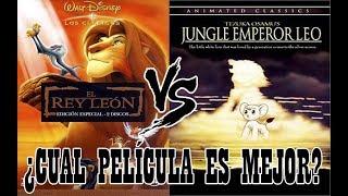 El Rey León vs El Emperador de la Jungla (Vídeo Comparación) Video