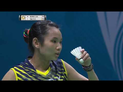 Dubai World Superseries Finals 2016 | Badminton F M3-WS | Sung Ji Hyun vs Tai Tzu Ying