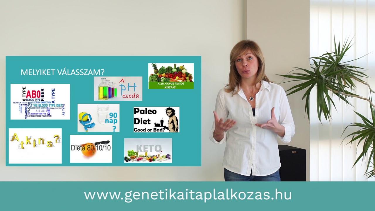 genetikai diéta)