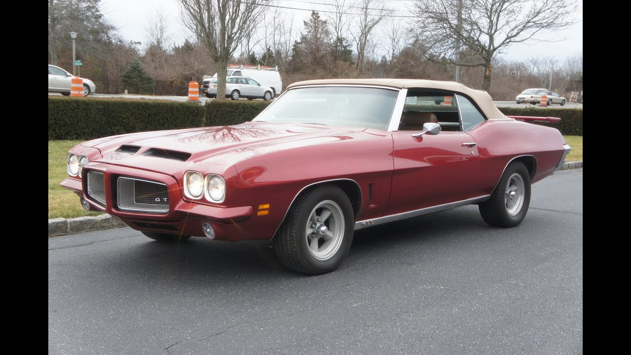 1972 Pontiac Lemans Gto Tribute Convertible For 400 4 Bbl Automatic